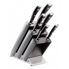 Wusthof Classic Ikon 6 Piece Knife Block Set - Mimocook