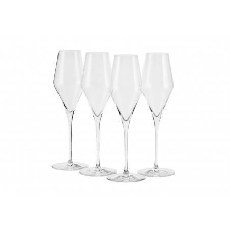 Le Creuset Set of 4 Sparkling Wine Glasses - Mimocook