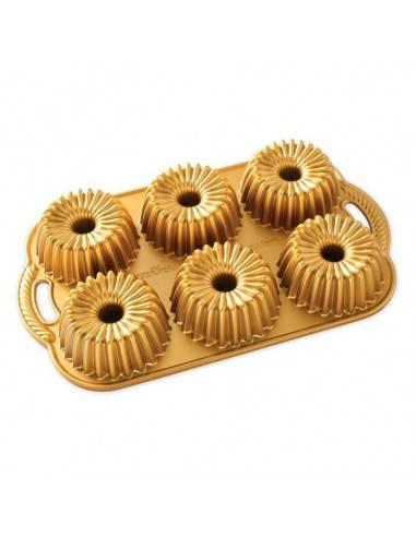 Nordic Ware Brilliance Bundtlette Pan - Mimocook