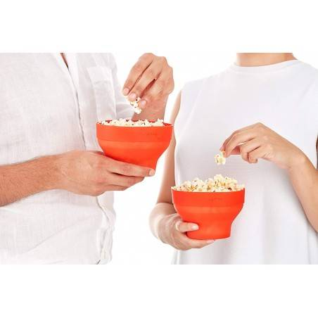 Lékué 2x Mini Microwave PopCorn - Mimocook