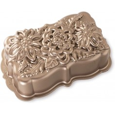 Nordic Ware Wildflower Loaf Pan 6 cups - Mimocook