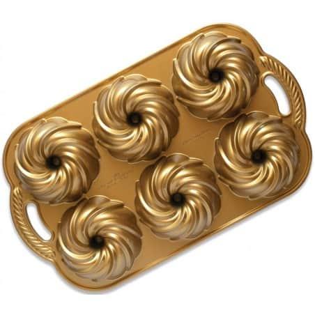 Nordic Ware Swirl Bundtlette Pan - Mimocook