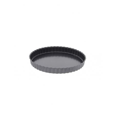 De Buyer Fluted Pie Dish with Removable Bottom