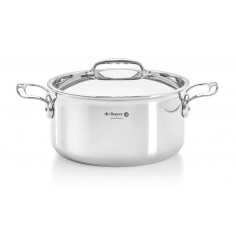 De Buyer Affinity stewpan with lid - Mimocook