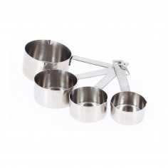 De Buyer Set of 4 stainless steel measuring cups - Mimocook