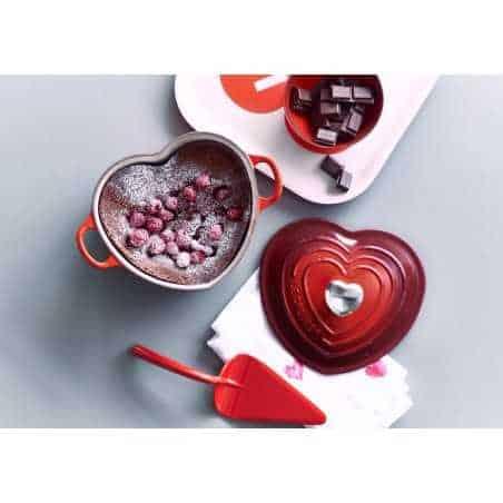 Le Creuset Classic Cast Iron Heart Casseroles - Mimocook