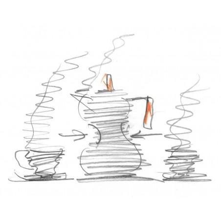 Alessi Pulcina Expresso Coffee Maker 3 Cups - Mimocook