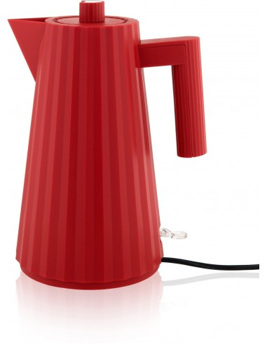 Alessi Plissé Electric Water Kettle red - Mimocook
