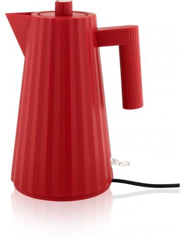 Chaleira eléctrica 1,7L vermelha Plissé da Alessi - Mimocook
