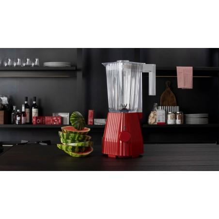 Blender Liquidificadora vermelha Plissé da Alessi - Mimocook