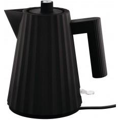 Alessi Plissé 1L Electric Water Kettle black - Mimocook