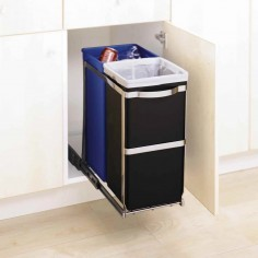 simplehuman 35 litre under counter pull-out recycler - Mimocook