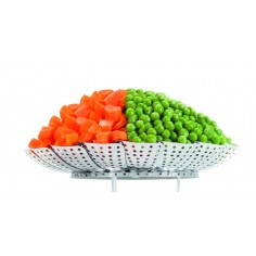 Ibili Stainless Steel Collapsible Steaming Basket - Mimocook