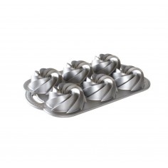 Nordic Ware non-stick Tin for 6 mini cakes - Mini Heritage - Mimocook