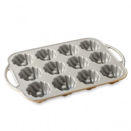 Forma para 12 mini Braided Bundt da Nordic Ware - Mimocook