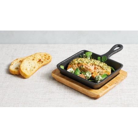 Sartén de hierro fundido con artesa Kitchen Craft - Mimocook