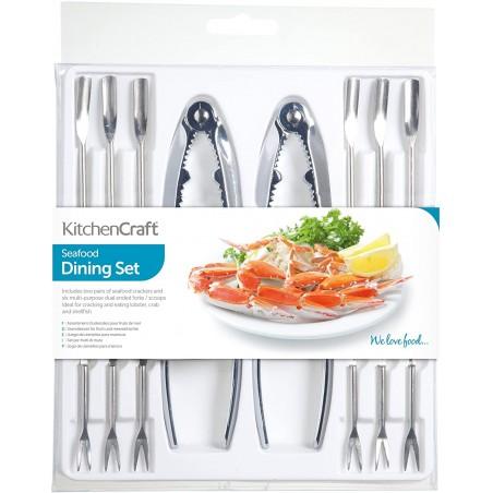 Set 8 piezas para mariscos Kitchen Craft - Mimocook