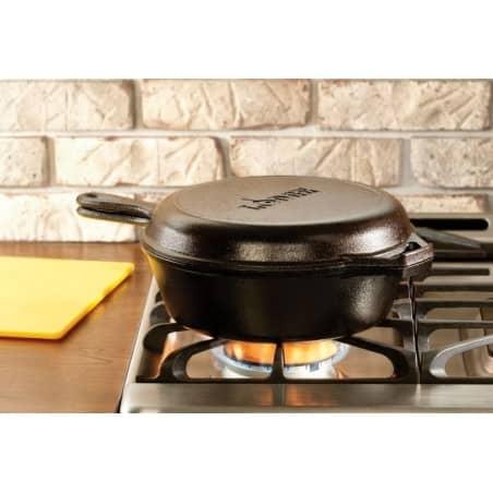 Set combo cooker ferro fundido da Lodge - Mimocook