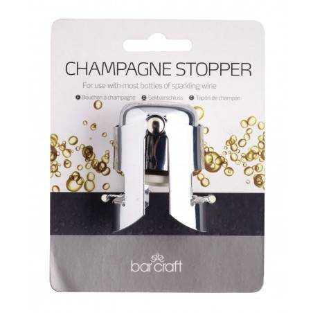 Kitchen Craft Bar Craft Champagne and Sparkling Wine Stopper - Mimocook